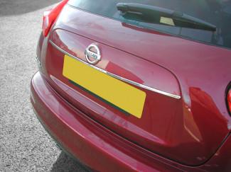 Stainless Steel Tailgate Handle Lip Trim Nissan Juke 2010 On