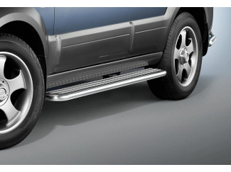 Side Step Set by Cobra for a Kia Sorento Stainless Steel tube