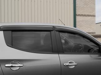 Mitsubishi Triton L200 2015 Window Deflector Visors Set Of 4