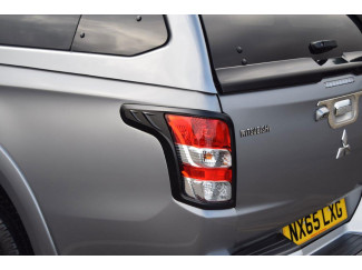 Matte Black Tail Lamp Surrounds Mitsubishi L200 Series 5 15 on