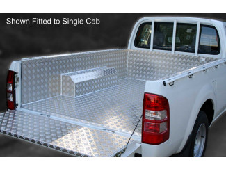 Mitsubishi L200 3 And 4 Double Cab Samson Fully Welded Chequer Liner