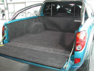 Mitsubishi L200 Mk5 Curved Bed Bedrug Bed Rug Carpet Load Liner