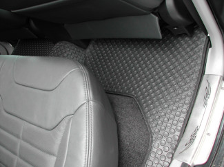 Mitsubishi L200 Mk5 And 6 Double Cab Tailored Mats Except 4 Life Or 4 Work Models