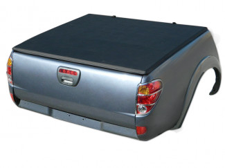 Mitsubishi L200 Curved Bed 05-14 Double Cab Soft Tri-Folding Cover – Budget version