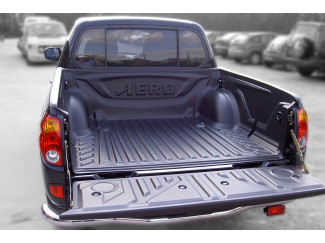Mitsubishi L200 5 05-09 Club-Extra Cab Aeroklas Heavy Duty Truck Bed Liner Over Rail