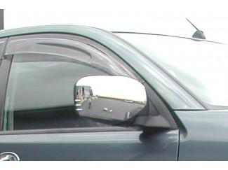 Mitsubishi L200 Mk5 And 6 Extra Cab Front Pair Of Wind Deflector Visors