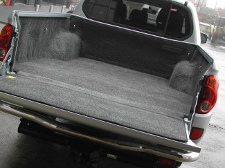 Mitsubishi L200 Mk5 And 6 Long Bed Bedrug Bed Rug Carpet Load Liner