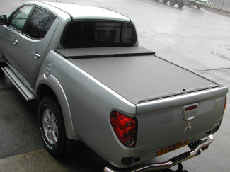 Mitsubishi L200 Mk5 And 6 Long Bed  09- Roll And Lock retractable Tonneau Cover