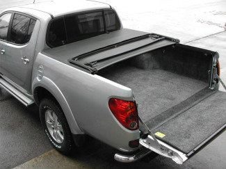 Tri-Fold Tonneau Cover For Mitsubishi L200 Long Bed 2010 On