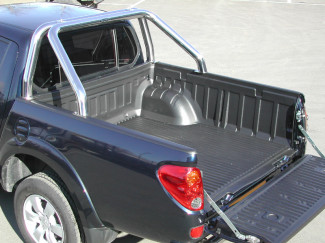 L200 Mk5 And 6 Long Bed  09- Truck Bed Liner Over Rail