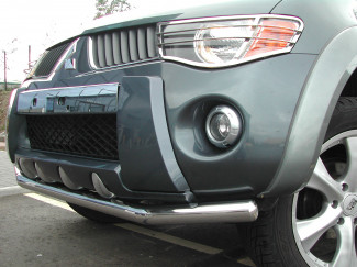 Mitsubishi L200 Mk5 And 6 Stainless Steel Spoiler Bar
