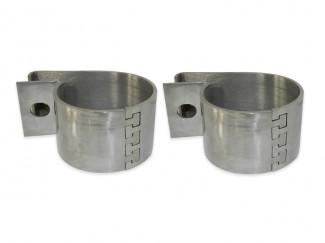 Steeler Stainless Steel Light Bracket Set For 70mm Bars