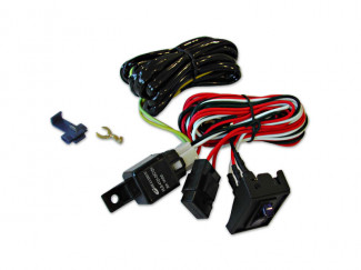 Lighting Wiring Kit (For 2 Spot Fog Lights) 320D