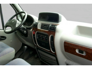 Wood Grain Effect Dash Trim Kit For Mk2 Master 1998 To 2003