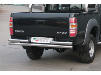 Mazda BT50 Stainless Steel Double Straight Rear Bar Non Tow (Mach)
