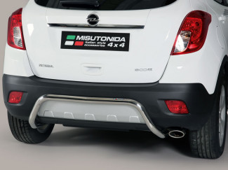 Stainless Steel Rear Bumper A-Frame Vauxhall Mokka 2012 On