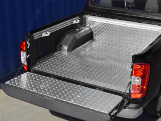 Nissan Navara NP300 Double Cab Chequer Liner With 'C' Channels