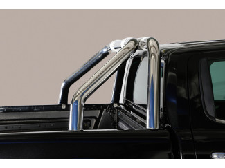 Mach Single Stainless Steel Roll Bar For The Nissan Navara NP300