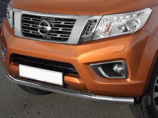 Nissan Navara NP300 - Front Stainless Steel Spoiler bar