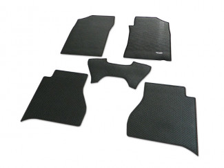 Nissan Navara NP300 2016 Onwards Double Cab Tailored Mat Set