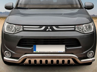 Mitsubishi Outlander 12 To 16 Stainless Steel Spoiler Bar EU Approved
