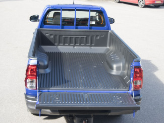 Toyota Hilux 2016 On Single Cab Truck Bed Liner Over Rail