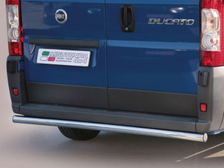 Fiat Ducato 14 Onwards Stainless Steel 63mm Rear Bar