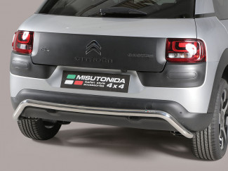 Citroen C4 Cactus 2014 Onwards Stainless Steel Rear Bar By Misutonida