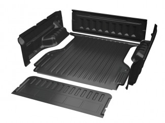 Isuzu D-Max 2012 Onwards Double Cab Proform Sportguard Pickup Bed Tray Liner Under Rail