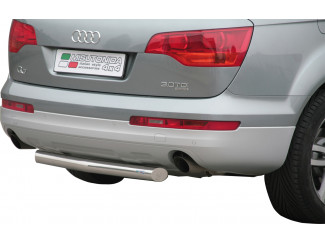 Audi Q7 Stainless Steel Straight Rear Bar