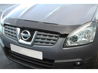 Nissan Qashqai 06-10 Dark Smoke Bonnet Guard
