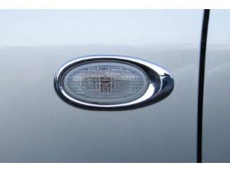 Ford Ranger 3 Chrome Side Rep Lamp Rims