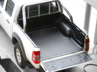 Ford Ranger 3 And 4 Double Cab Truck Bed Liner Over Rail