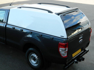 Ford Ranger Mk5 2012 Onwards Regular Cab Carryboy 560 Commercial Truck Top Canopy In White