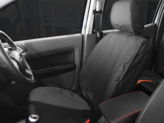 Pair Of Tailored Front Dark Grey Seat Covers For The Ford Ranger