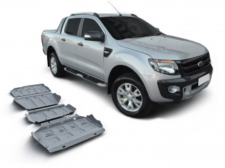 2012 On Ford Ranger T6 Under Body Protection Set