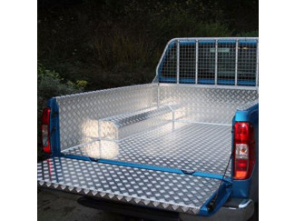 Ford Ranger 1 And 2 Double Cab Samson Chequer Plate Liner