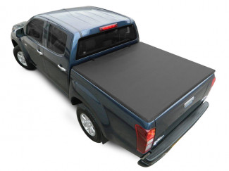 Ford Ranger 1999-2011 Double Cab With Ladder Rack Tri-Folding Soft Tonno Cover