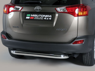 Stainless Steel Rear Bumper A-Frame Toyota Rav4 2013 On
