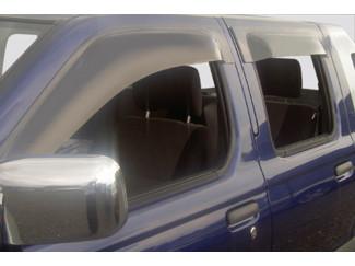 Daewoo Rexton  Large Quad Window Deflector Visors Set Of 4