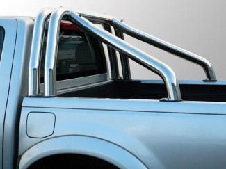 Mitsubishi L200 Double Hoop Stainless Steel Roll Bar