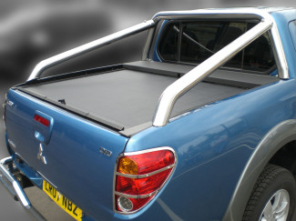 Single Hoop Extended Roll Bar For L200 Mk5 Double Cab Curved Bed