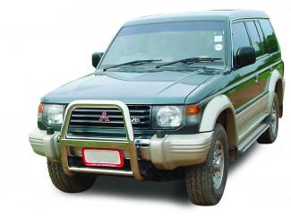 Mitsubishi Shogun Mk2-3 91-98 Stainless A-Bar Nudge Bar Bull Bar 2.5 Inch