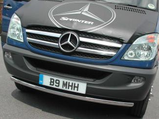 Mercedes Sprinter 06> Stainless Steel  Spoiler Bar