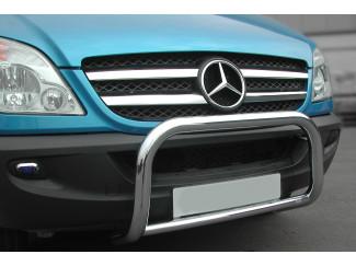 Mercedes Sprinter Mk3 Stainless Steel A-Bar Nudge Bar Bull Bar Eu Approved