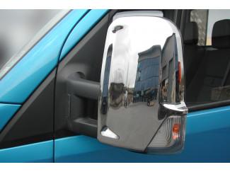 Mercedes Sprinter Mk3 Stainless Steel Mirror Covers