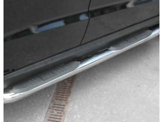 Toyota Surf Mk2 96- Stainless Steel Sidebars+Tread