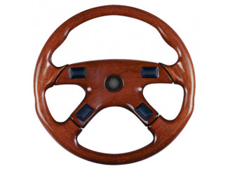 Steering Wheel Mach4 Sport Wood Look V217F