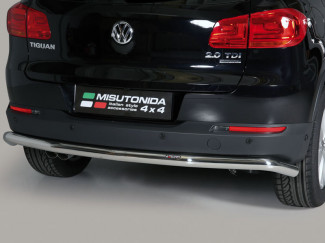 Stainless Steel Rear Bumper A-Frame Volkswagen Tiguan 2011 On