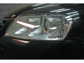 Vw Touareg Mk2 Clear Acrylic Head Light Protector Covers - Pair